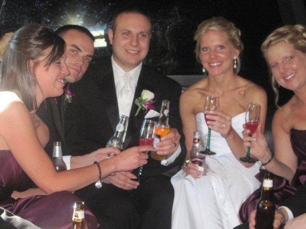 Tmx 1338482632229 Cheeersweddinglimobus Milwaukee, Wisconsin wedding transportation
