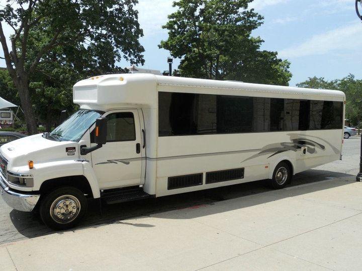 Tmx 1363798388058 25passengerpartybus Milwaukee, Wisconsin wedding transportation