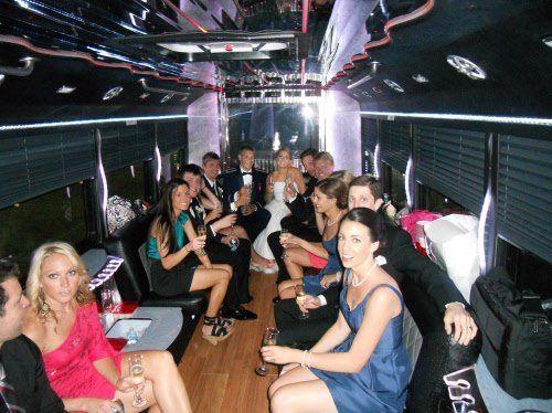 Tmx 1363798389693 Weddingparty25passengerbus Milwaukee, Wisconsin wedding transportation