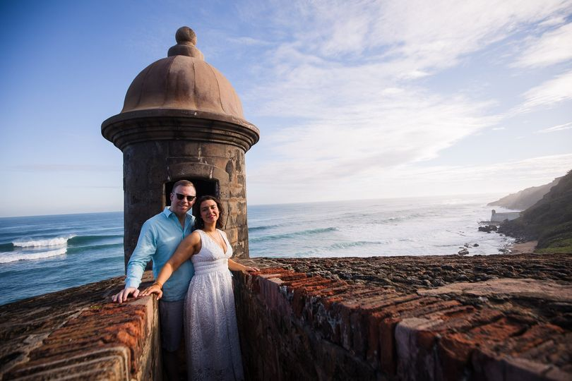 Old San Juan micro-wedding