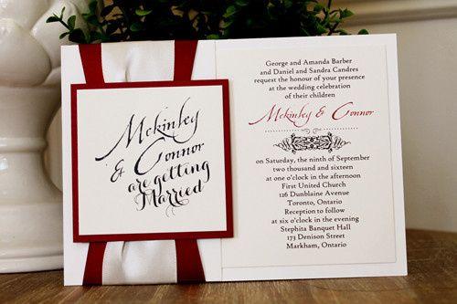 Tmx 1467925689921 1512a Markham wedding invitation
