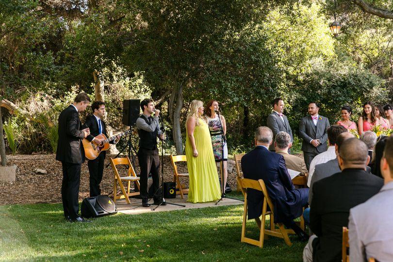 Ceremony music.