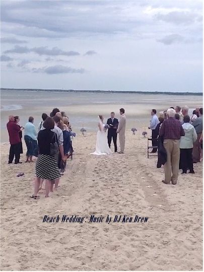 Beach Wedding | Music by DJ Ken Drew