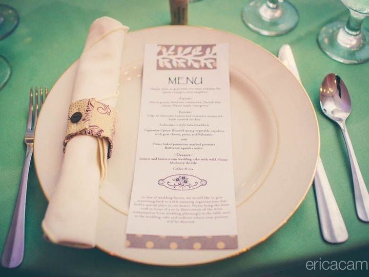 Tmx 1421254268456 Menu Cassie  Dana Bar Harbor wedding catering