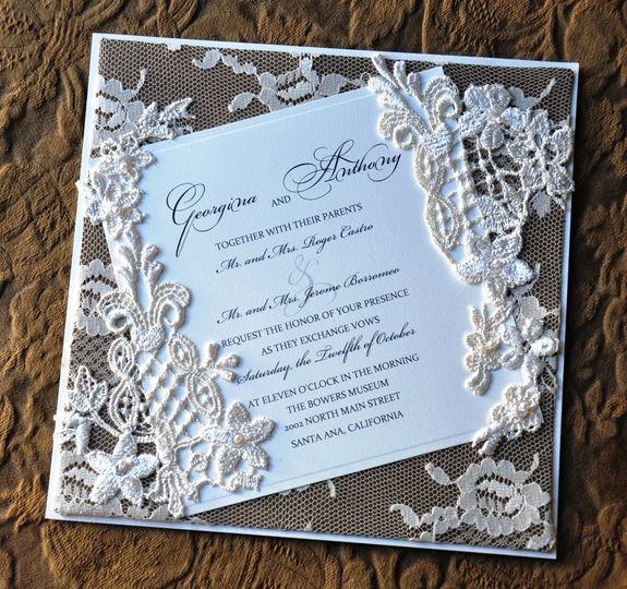 Uniquely Yours Wedding Invitation - Invitations - Glendale, CA ...