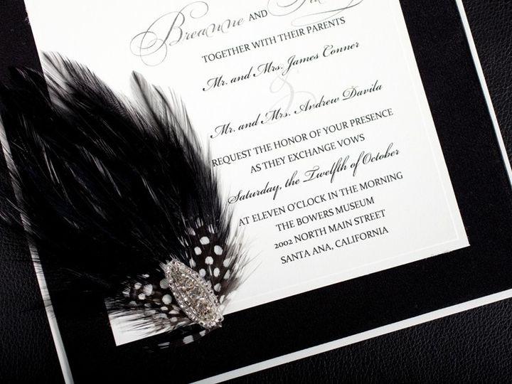 Tmx 1378233573640 Black And White Wedding Invitation Glendale wedding invitation