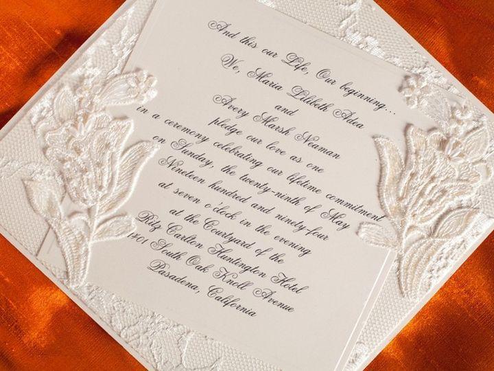 Tmx 1378233627909 Handmade Wedding Invitation 2 Glendale wedding invitation