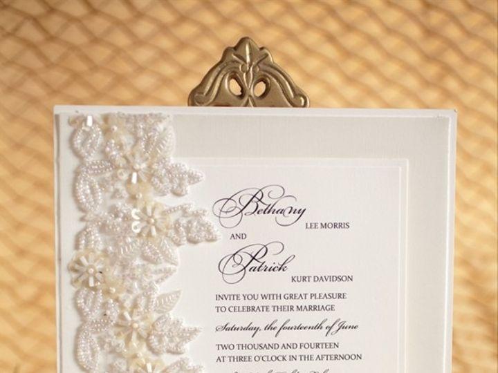 Tmx 1378233635753 Ivory Lace Wedding Invitation Glendale wedding invitation