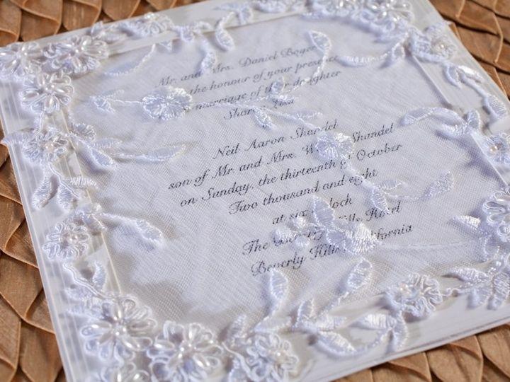 Tmx 1378233693707 White Lace Wedding Invitation Glendale wedding invitation