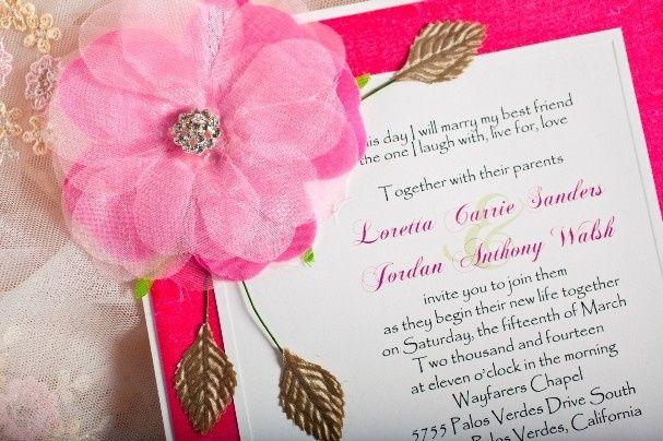 Tmx 1378234321542 Img1919 Glendale wedding invitation