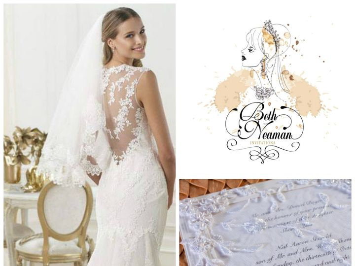 Tmx 1378251716862 Lace Invitation Glendale wedding invitation