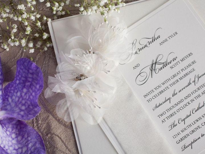Tmx 1378402985352 Handmade Wedding Invitation Glendale wedding invitation