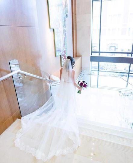 Creative bridal's portrait