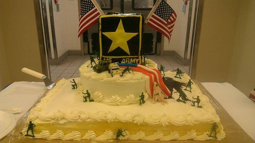Happy birthday Army