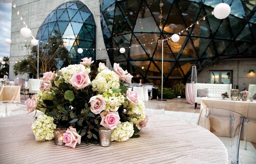 Wedding Reception in East Garden