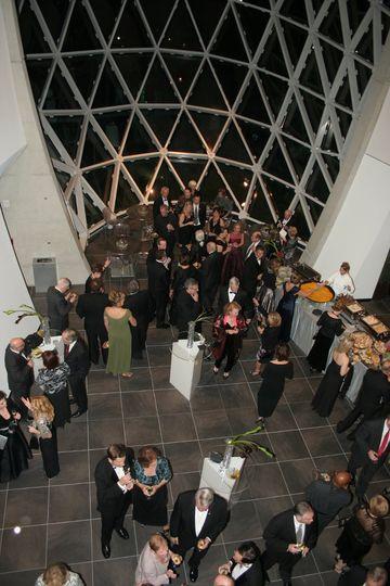 Reception in Foyer