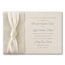 Tmx 1455925920838 Filligree And Satin Maywood, New Jersey wedding invitation
