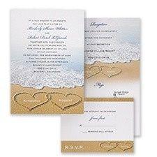 Tmx 1455925937152 Beach Bliss Maywood, New Jersey wedding invitation