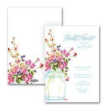 Tmx 1455927305370 Jar Of Flowers Maywood, New Jersey wedding invitation