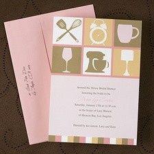 Tmx 1455927321630 Kitchen Bridal Shower Maywood, New Jersey wedding invitation