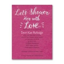 Tmx 1455927335979 Lets Shower Her Maywood, New Jersey wedding invitation