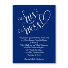 Tmx 1455927781402 His And Hers Bridal Shower Maywood, New Jersey wedding invitation