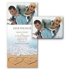 Tmx 1455929012034 Love The Beach Maywood, New Jersey wedding invitation