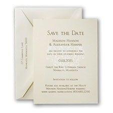 Tmx 1455929047100 Modern Damask Maywood, New Jersey wedding invitation
