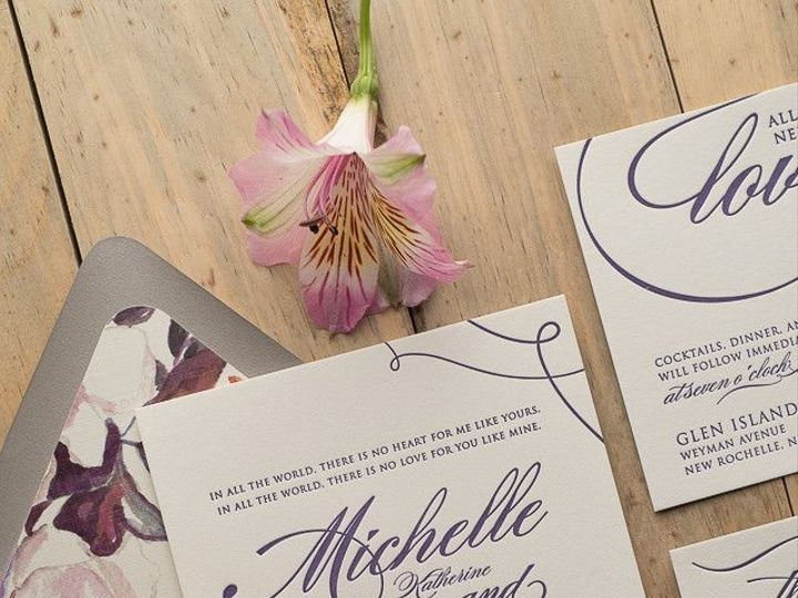 Tmx 1455931462325 Wedding Invitation Ideas 1 Maywood, New Jersey wedding invitation