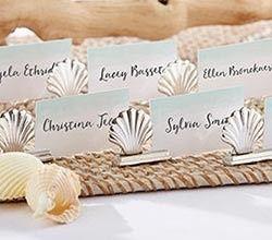 Tmx 1457214872084 11273na Silver Seashell Place Card Holder2 Ka S Maywood, New Jersey wedding invitation