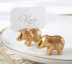 Tmx 1457215369806 25244gd Gold Elephant Place Card 1 Ka S Maywood, New Jersey wedding invitation