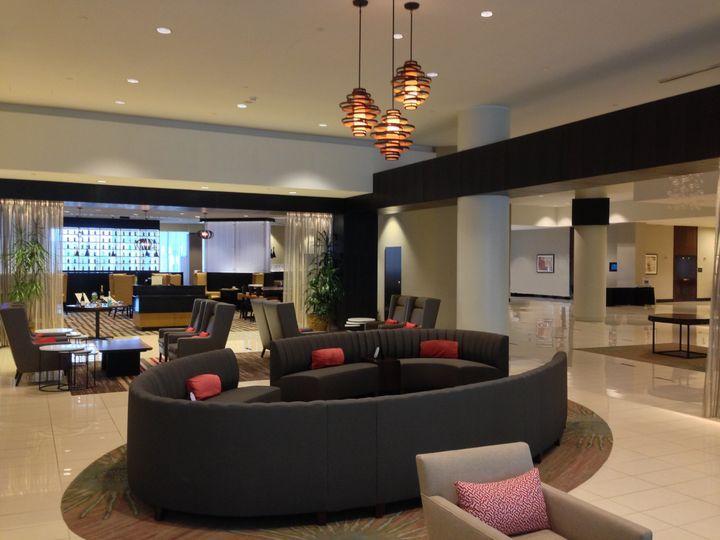 Hilton Albany's lounge