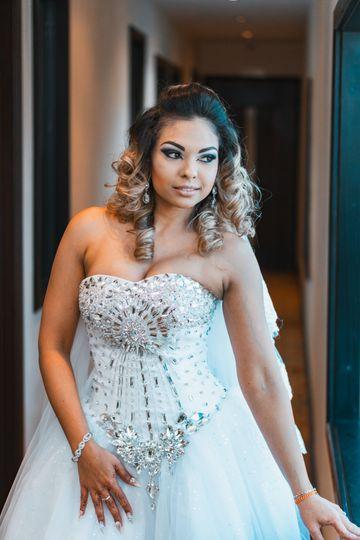 Nicole Wedding Day