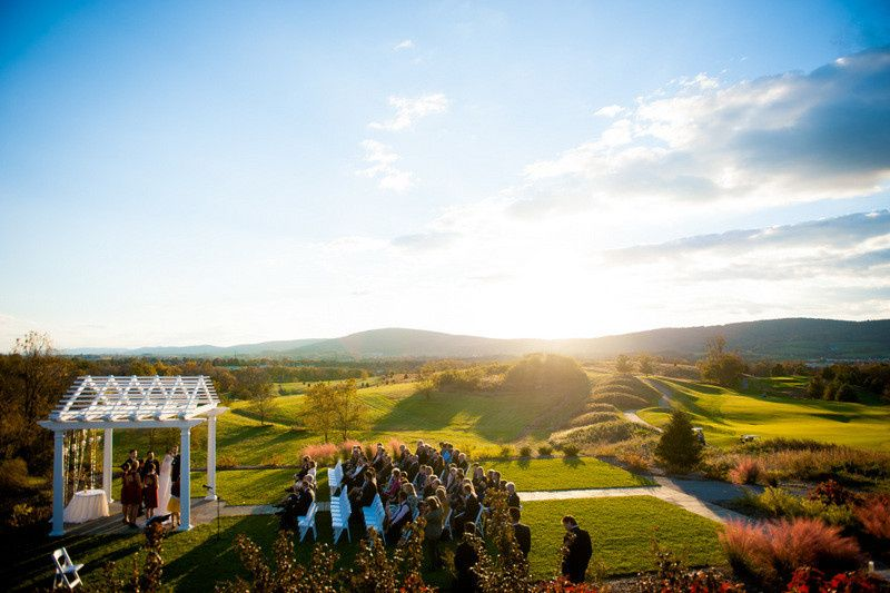 Catoctin hall at musket ridge venue myersville md for Outdoor wedding washington state