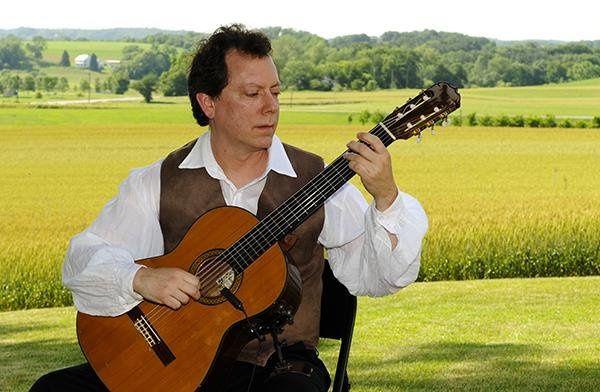 The wedding guitarist