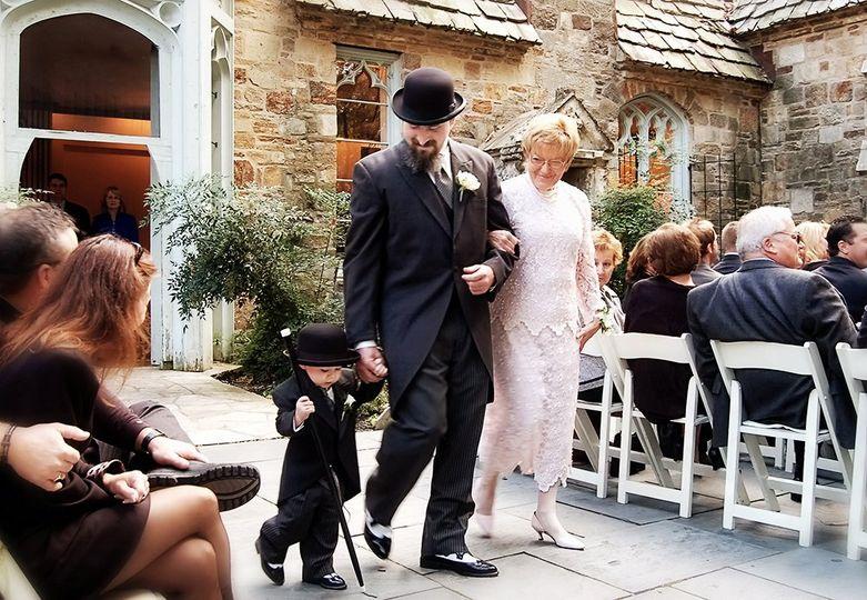 Wedding procesion