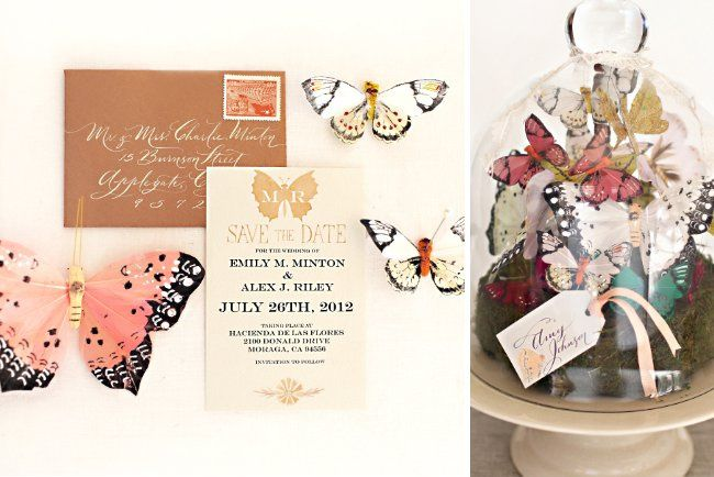"Invitation from the ""Love is a Flutter"" Collection  >>See more:..."
