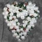 Heart Balloon Decoration     A heart-shaped balloon sculpture will add a touch of romance to every...