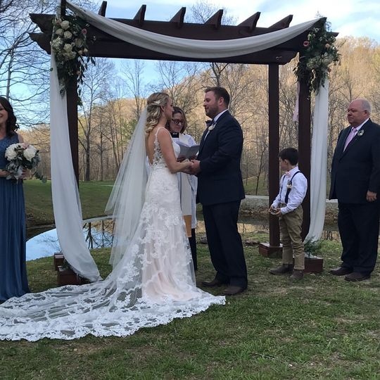 kelsey and blake ceremony