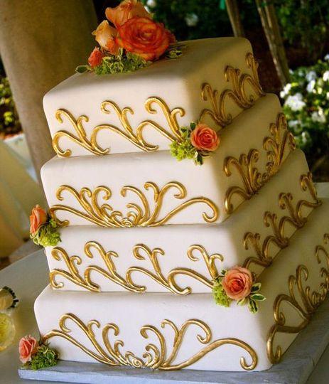 Wedding Cakes Orange County: Rockwell's Bakery