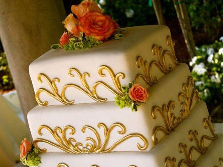 Tmx 1315282397186 WeddingcakeRockwells Villa Park wedding cake