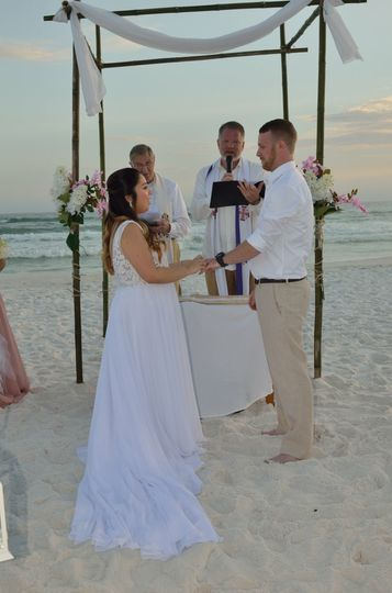 Vows with Aransa and Michael