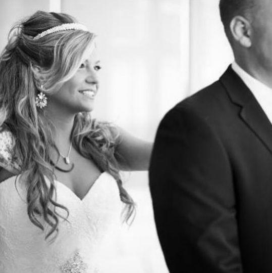Beach bride.