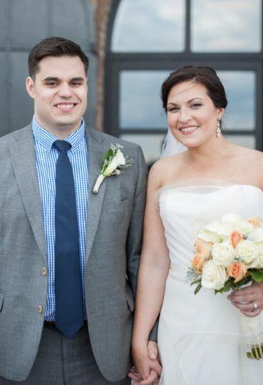 Classic bride.