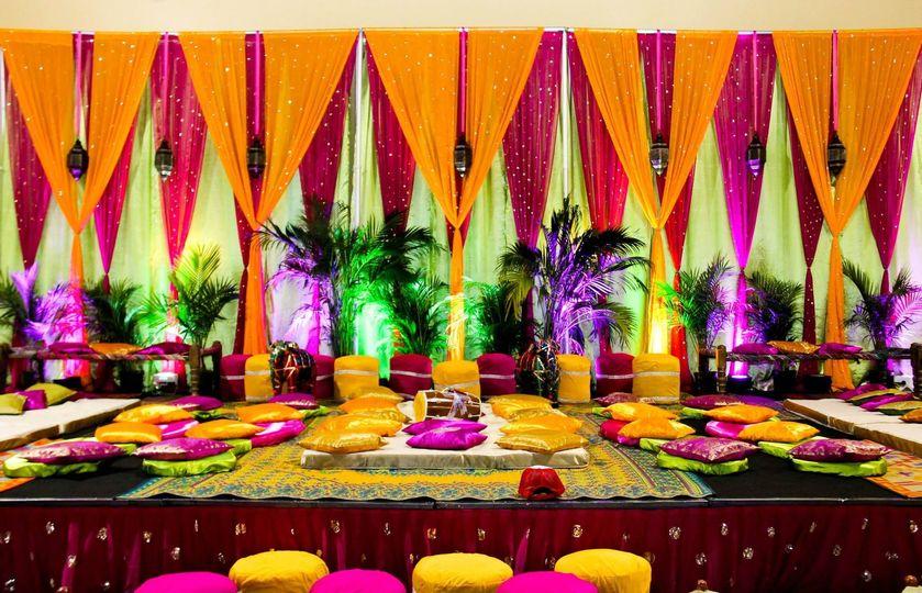 Colorful setup