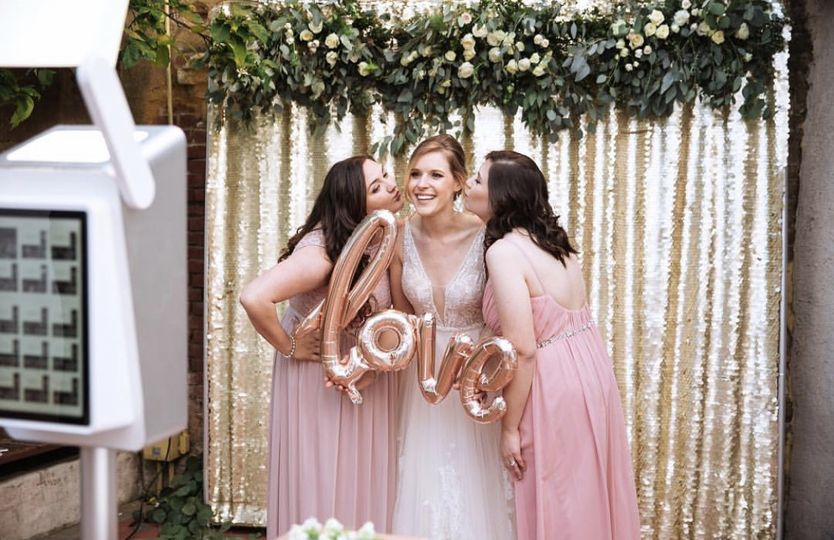 Giving the Bride so much Love!