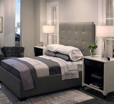 Custom Bed with Signoria Firenze Bedding