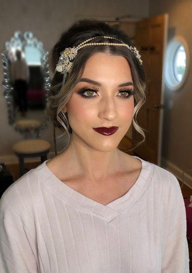 Great gatsby makeup