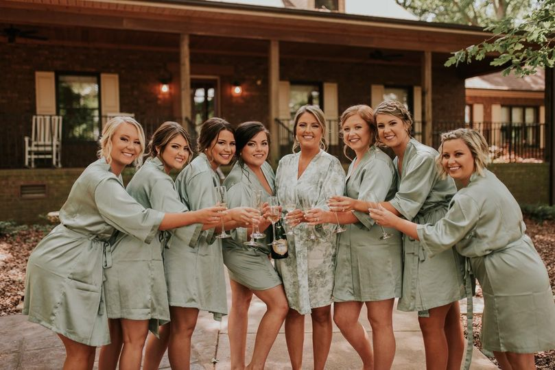 Bridal party bookings