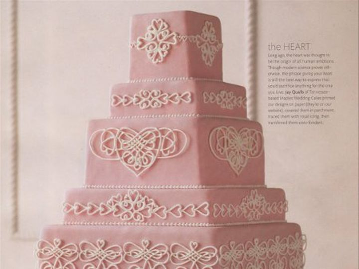Tmx 1338390425468 MaplesHeartCake22 Nashville wedding cake